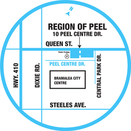 Peel Access to Housing map