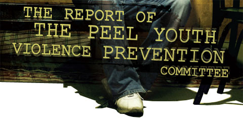 The Report of The Peel Youth Violence Prevention Committee